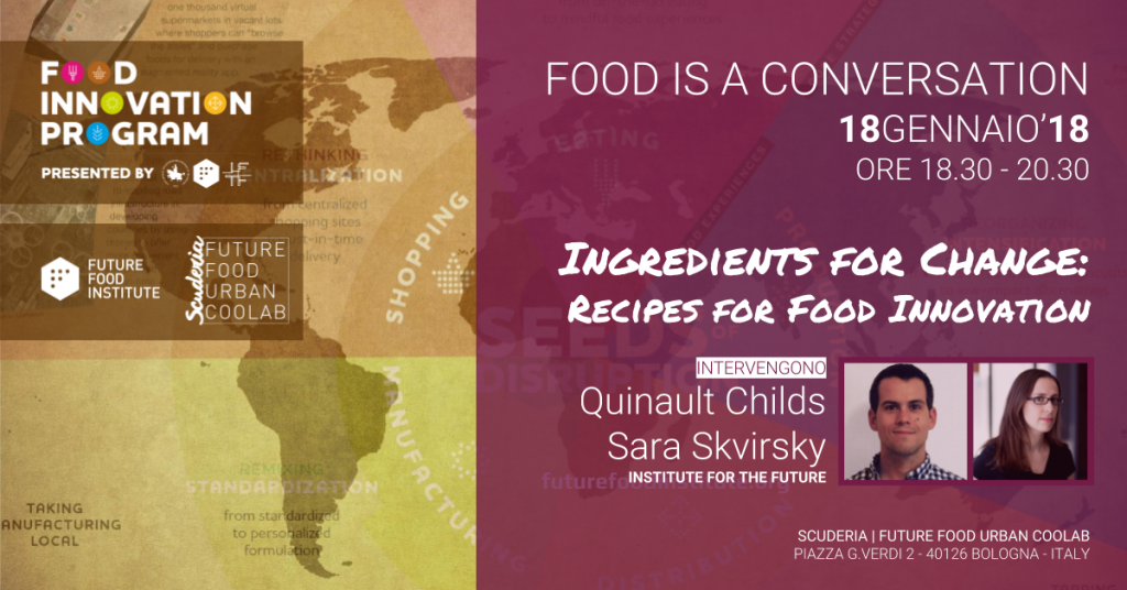 Ingredients for change  Recipe for food innovation - You Can Group 79e40bff97ee5