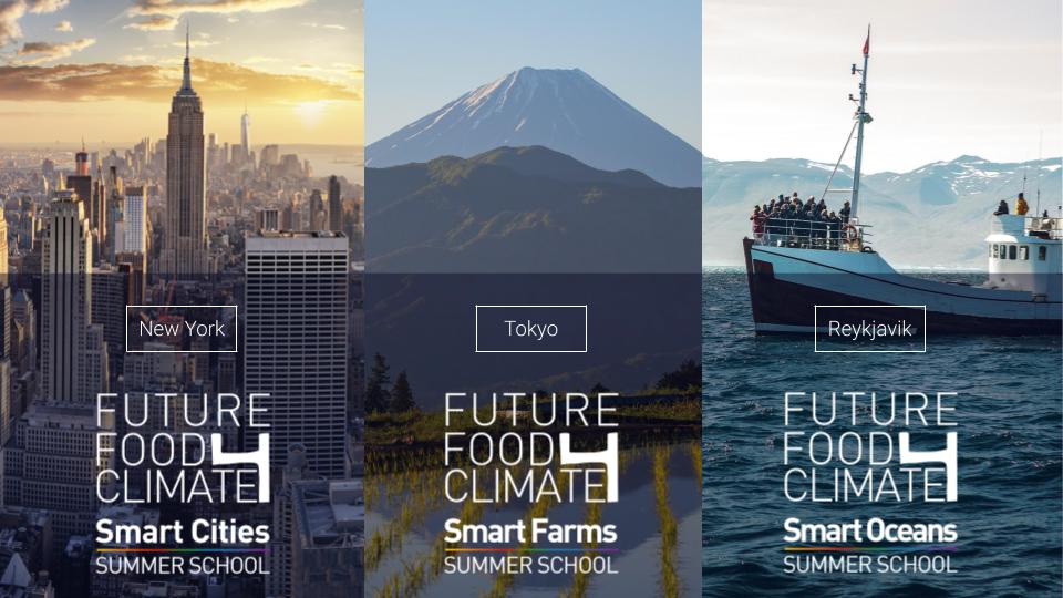 Sei pronto a scoprire le Future Food for Climate Change Summer Schools?