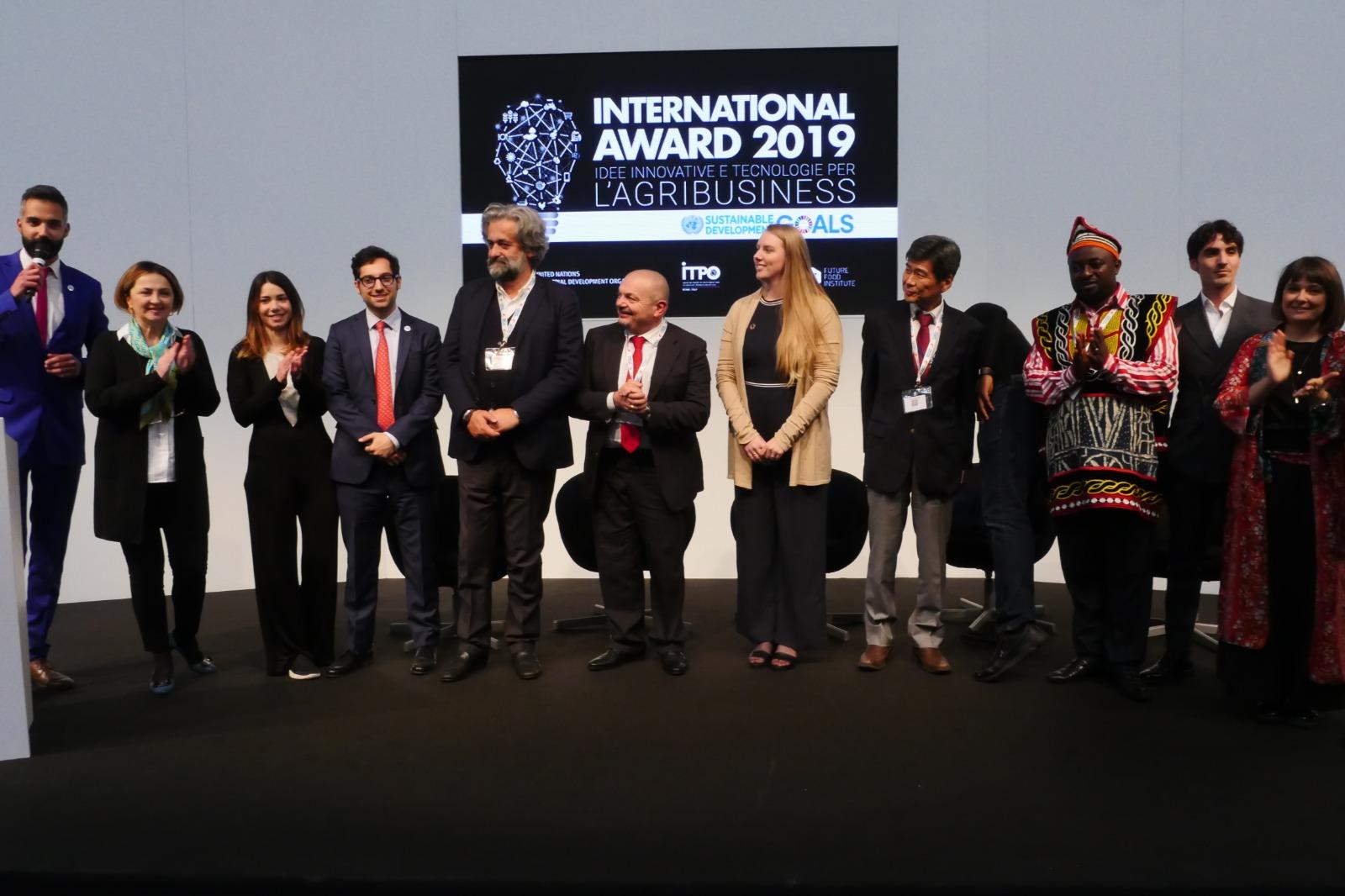 Agritech & Food Innovation: in Exco la cerimonia di premiazione ufficiale della terza edizione dell'UNIDO ITPO Italy International Award